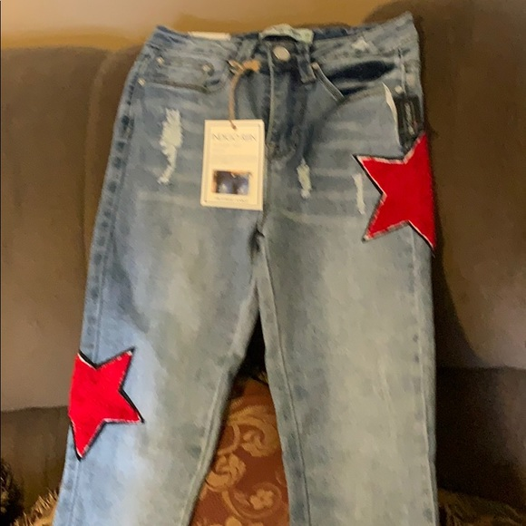 Indigo Rein Denim - NWT Indigo Rein Americana jeans